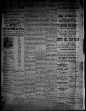 Primary view of object titled 'The Albany News. (Albany, Tex.), Vol. [3], No. [20], Ed. 1 Thursday, July 8, 1886'.
