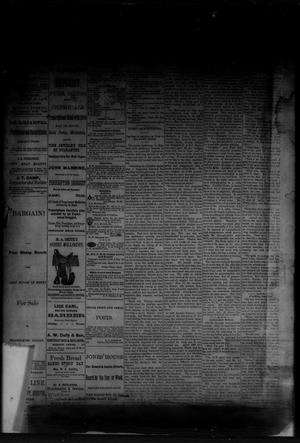 Primary view of object titled 'The Albany News. (Albany, Tex.), Vol. [1], No. [16], Ed. 1 Friday, June 13, 1884'.
