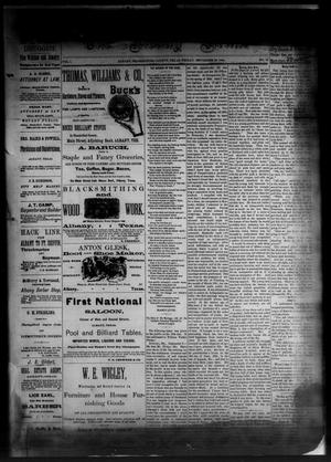 Primary view of object titled 'The Albany News. (Albany, Tex.), Vol. 1, No. 31, Ed. 1 Friday, September 26, 1884'.