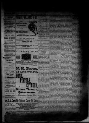 Primary view of object titled 'The Albany News. (Albany, Tex.), Vol. 1, No. [44], Ed. 1 Friday, December 26, 1884'.