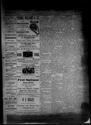 Primary view of object titled 'The Albany News. (Albany, Tex.), Vol. 1, No. 33, Ed. 1 Friday, October 10, 1884'.