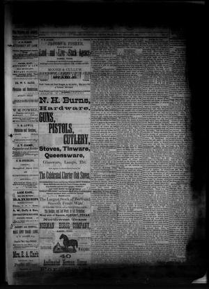 Primary view of object titled 'The Albany News. (Albany, Tex.), Vol. 1, No. 45, Ed. 1 Friday, January 2, 1885'.