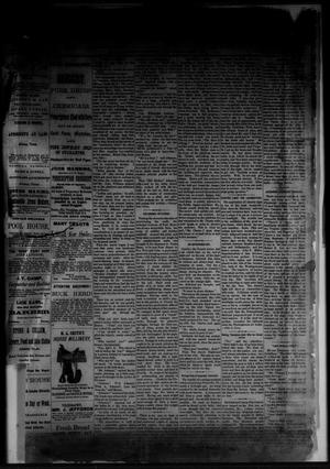 Primary view of object titled 'The Albany News. (Albany, Tex.), Vol. [1], No. [6], Ed. 1 Friday, April 4, 1884'.