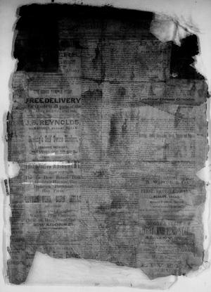 Primary view of object titled 'The Albany News. (Albany, Tex.), Vol. [3], No. [1], Ed. 1 Thursday, February 25, 1886'.