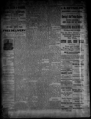Primary view of object titled 'The Albany News. (Albany, Tex.), Vol. [3], No. [17], Ed. 1 Thursday, June 17, 1886'.