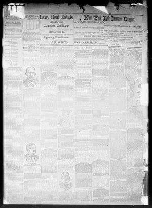 Primary view of object titled 'The Albany Weekly News. (Albany, Tex.), Vol. [9], No. [17], Ed. 1 Friday, July 29, 1892'.