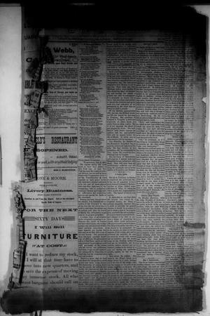 Primary view of object titled 'The Albany News. (Albany, Tex.), Vol. 1, No. 52, Ed. 1 Friday, February 20, 1885'.