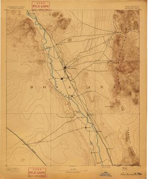 Primary view of object titled 'Las Cruces Sheet'.