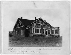 Primary view of object titled 'H.P. Fischer's Encirosa Ranch House'.