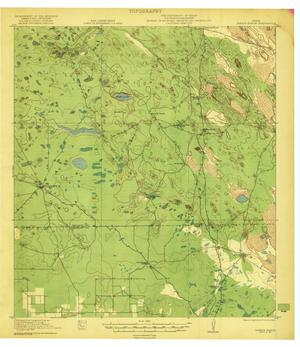 Primary view of object titled 'Tarida Ranch Quadrangle'.
