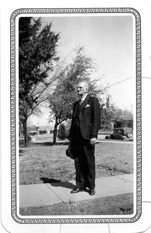 Primary view of object titled 'Wilburn Oatman, Sr.'.