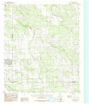 USGS Topographic Map Collection The Portal To Texas History - Texas topographic map