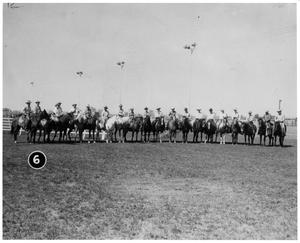 Primary view of object titled 'Horseback Riders in a Line'.