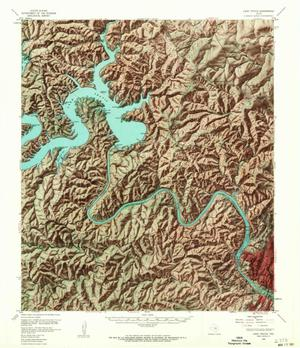 Primary view of object titled 'Lake Travis Quadrangle'.