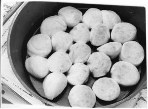 Primary view of object titled 'Bread Rolls in a Pan'.