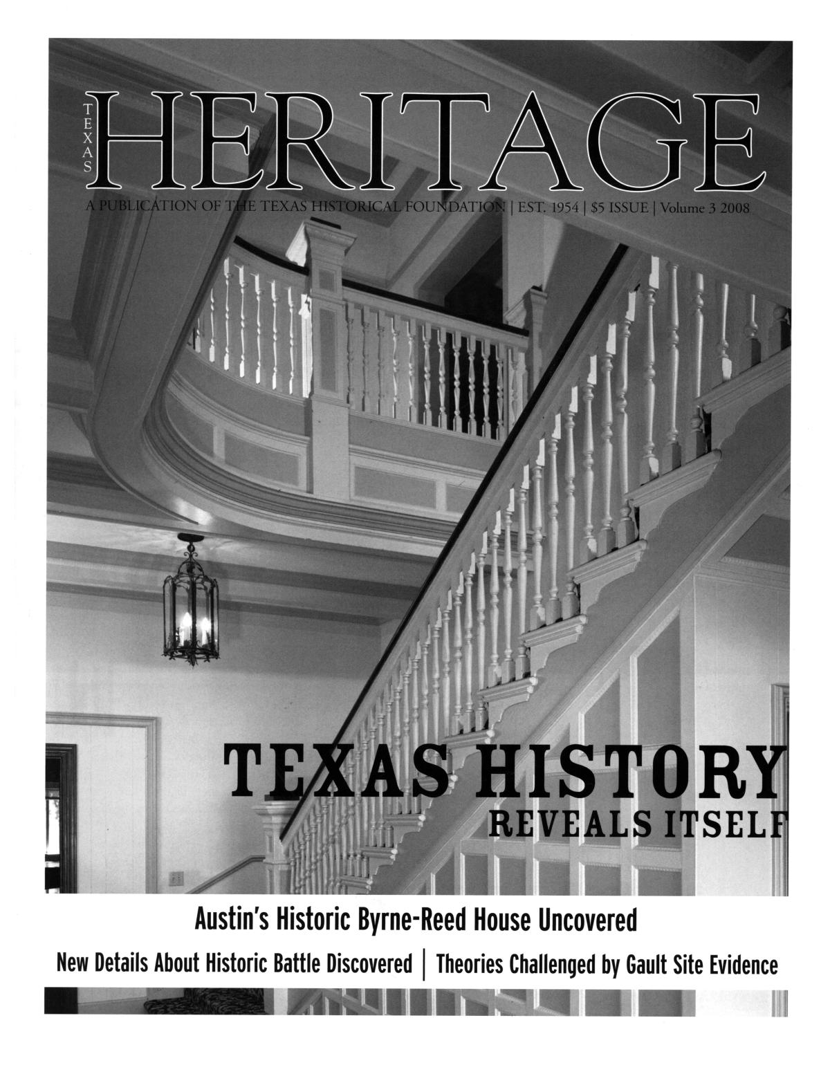 Heritage, 2008, Volume 3                                                                                                      Front Cover