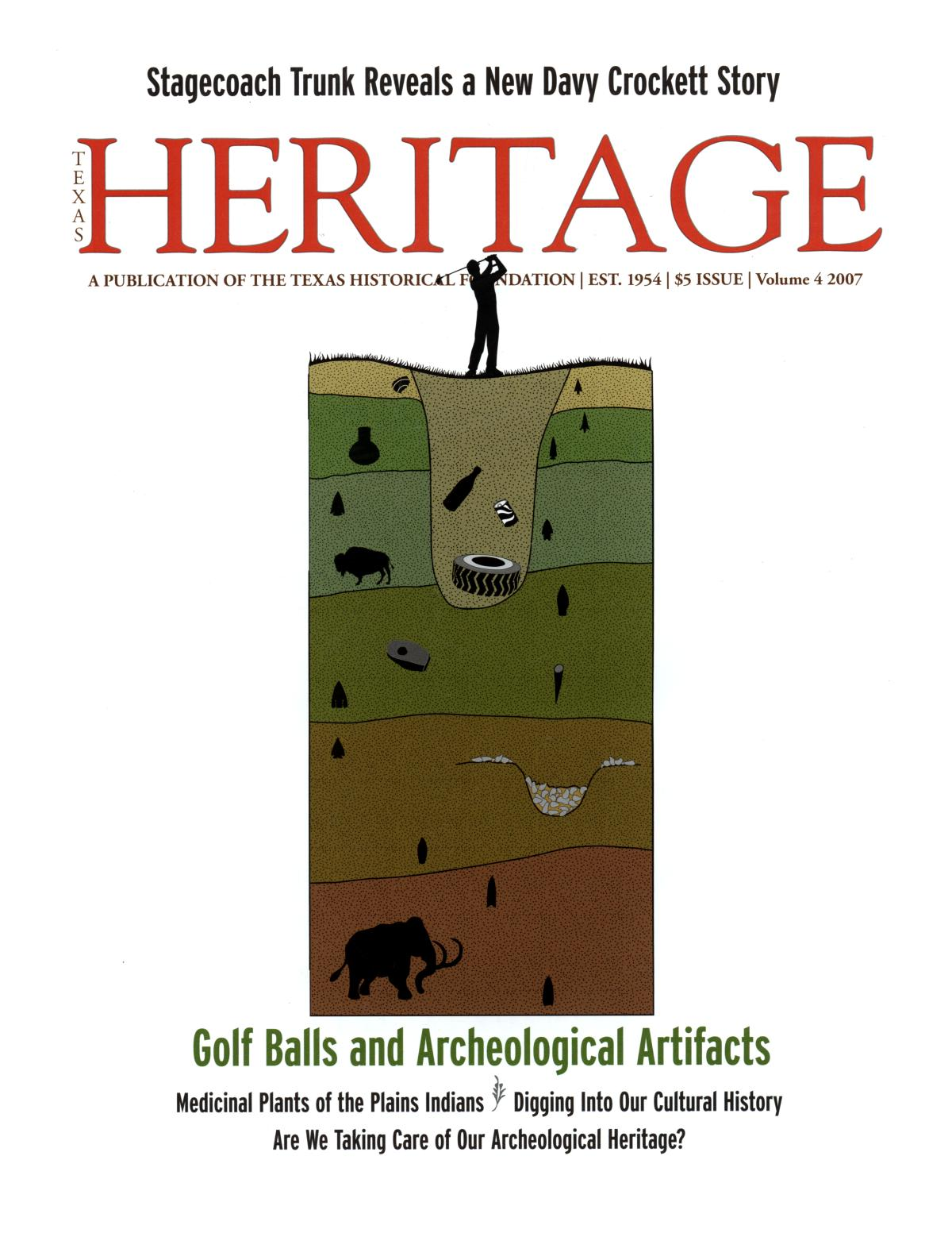 Heritage, 2007, Volume 4                                                                                                      Front Cover