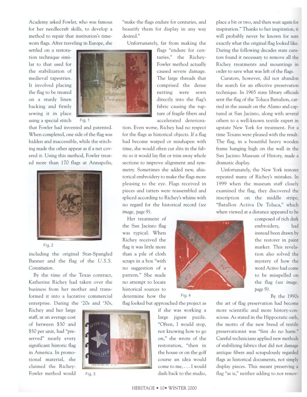 Heritage, Volume 18, Number 1, Winter 2000                                                                                                      10