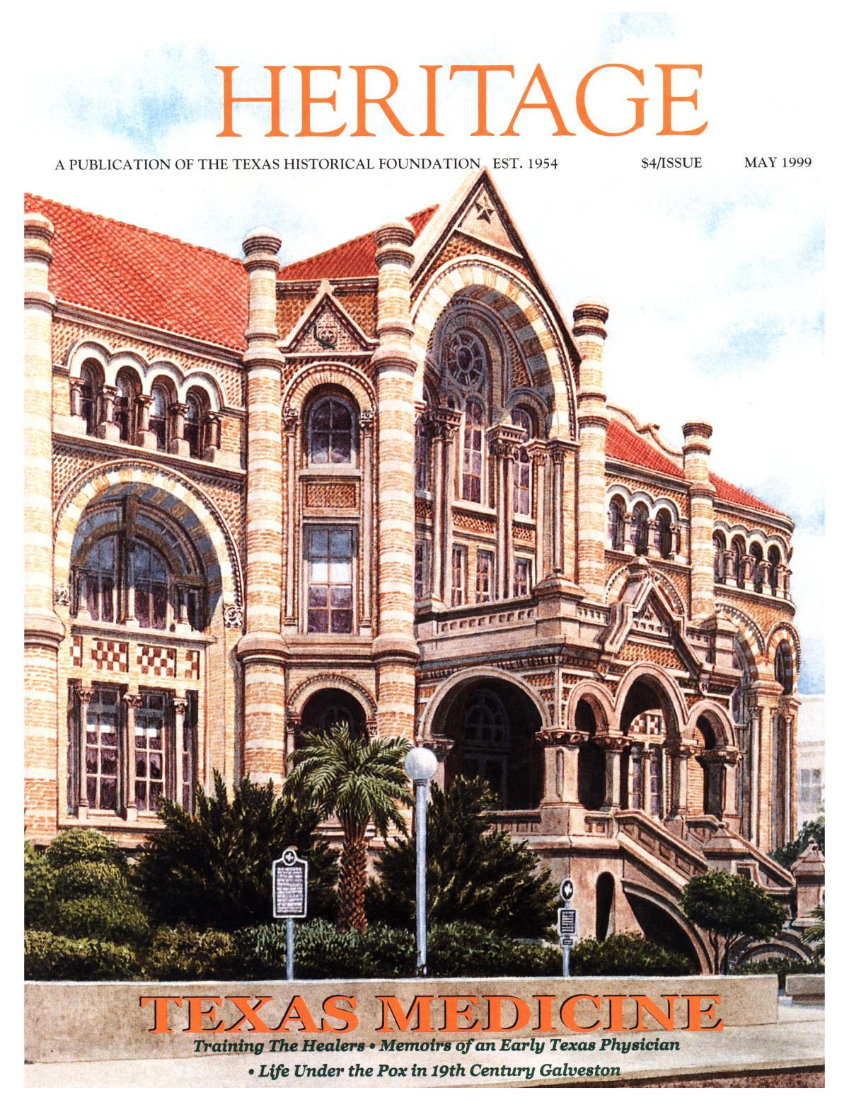 Heritage, Volume 17, Number 2, May 1999                                                                                                      Front Cover