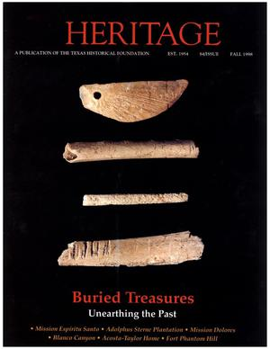 Primary view of object titled 'Heritage, Volume 16, Number 4, Fall 1998'.