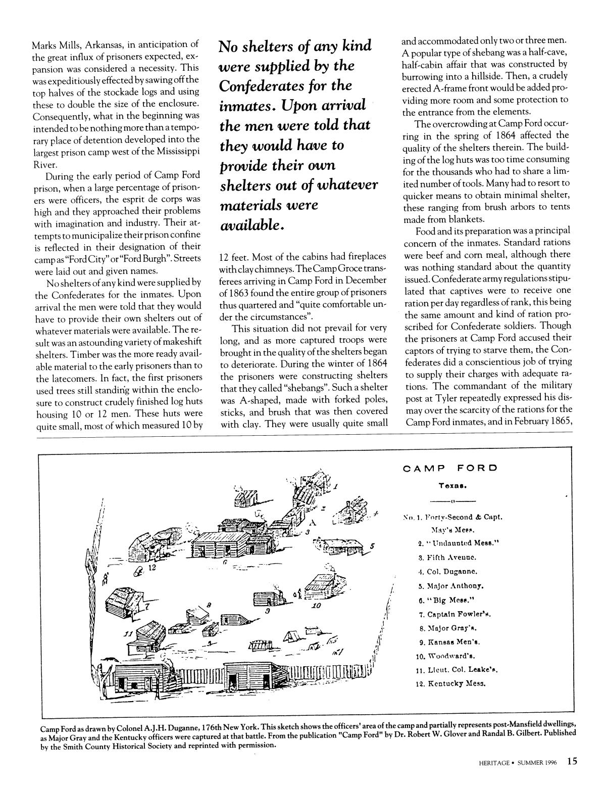 Heritage, Volume 14, Number 3, Summer 1996                                                                                                      15