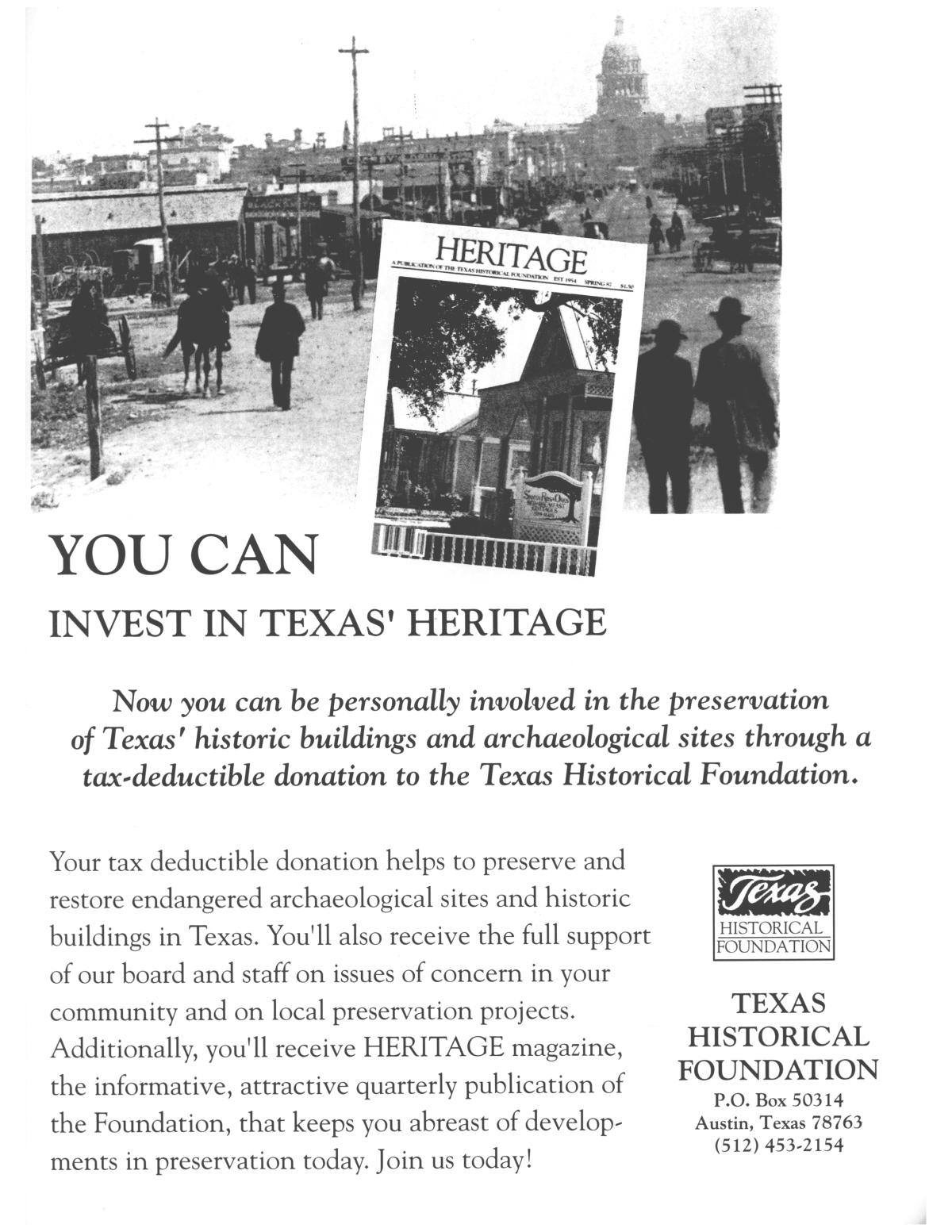 Heritage, Volume 13, Number 4, Fall 1995                                                                                                      25