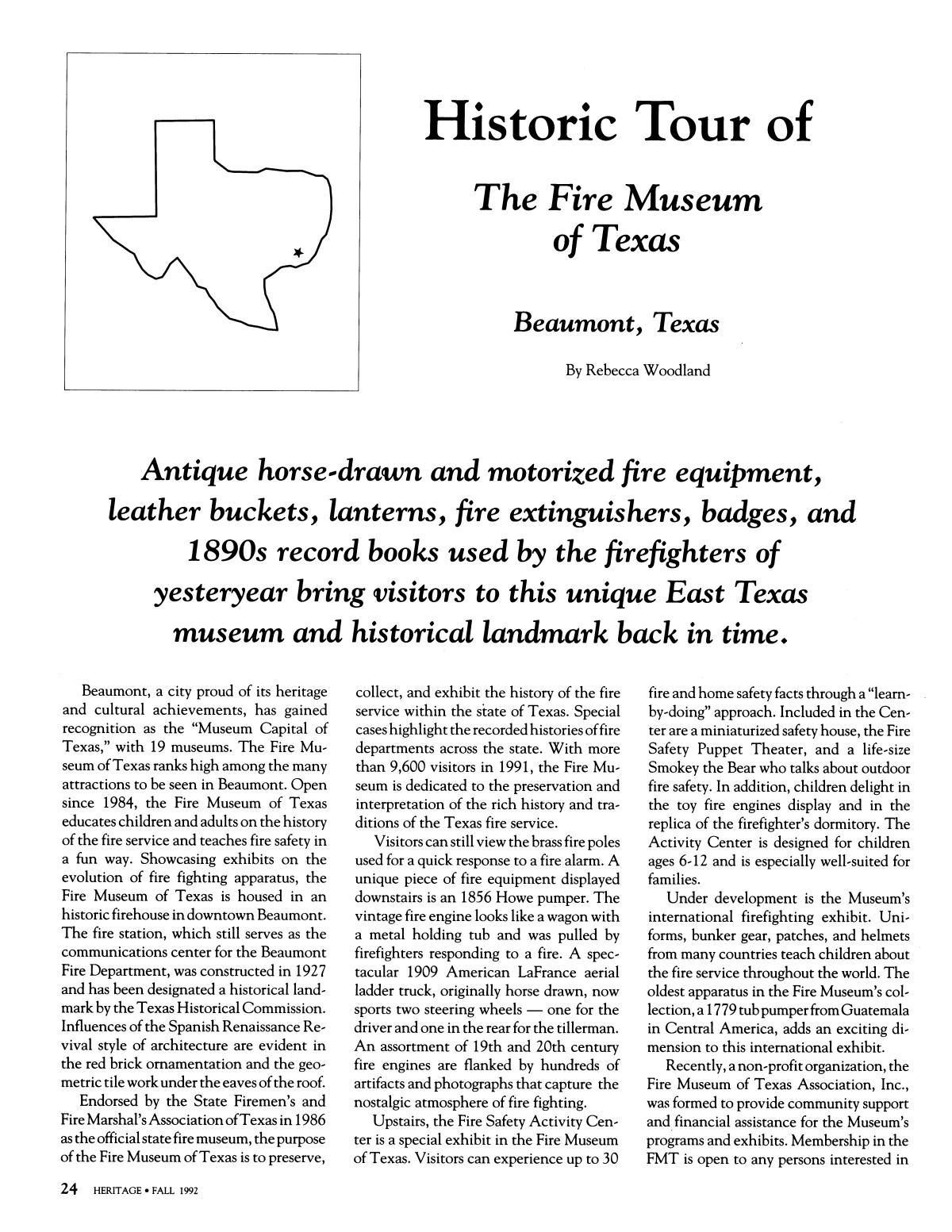 Heritage, Volume 10, Number 4, Fall 1992                                                                                                      24