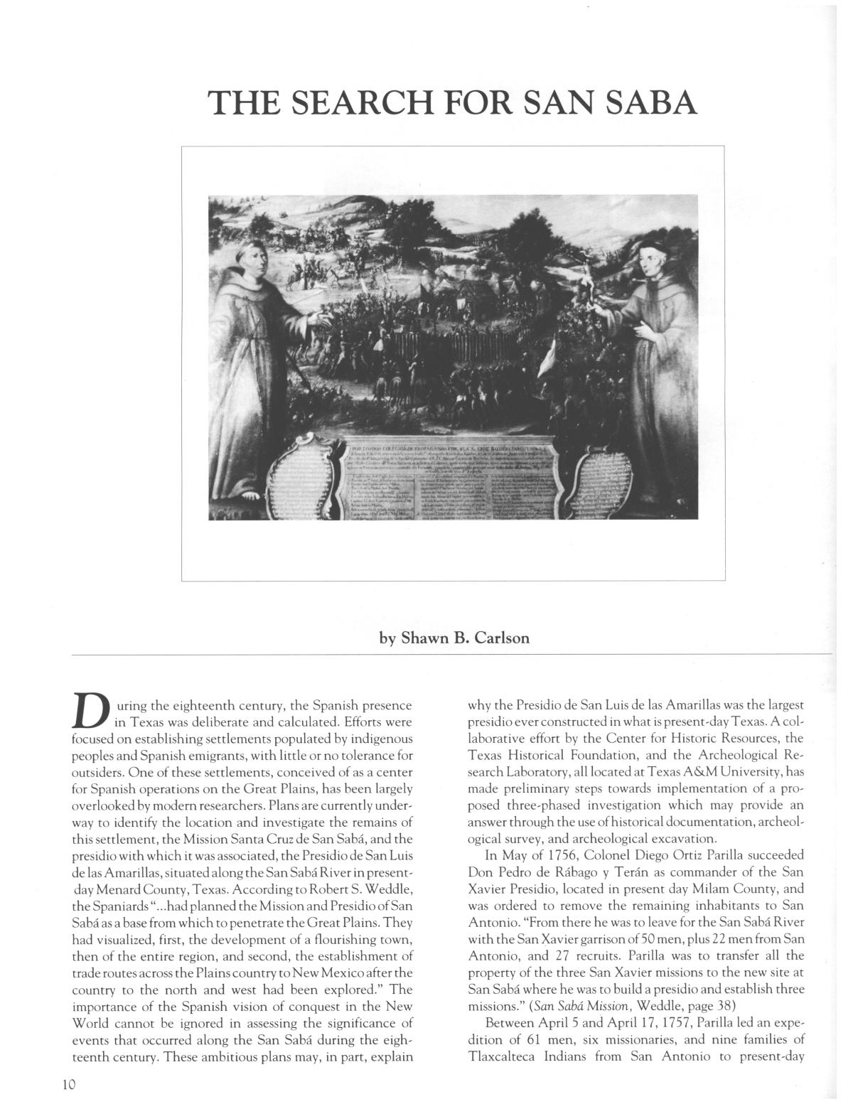 Heritage, Volume 6, Number 3, Fall 1988                                                                                                      10