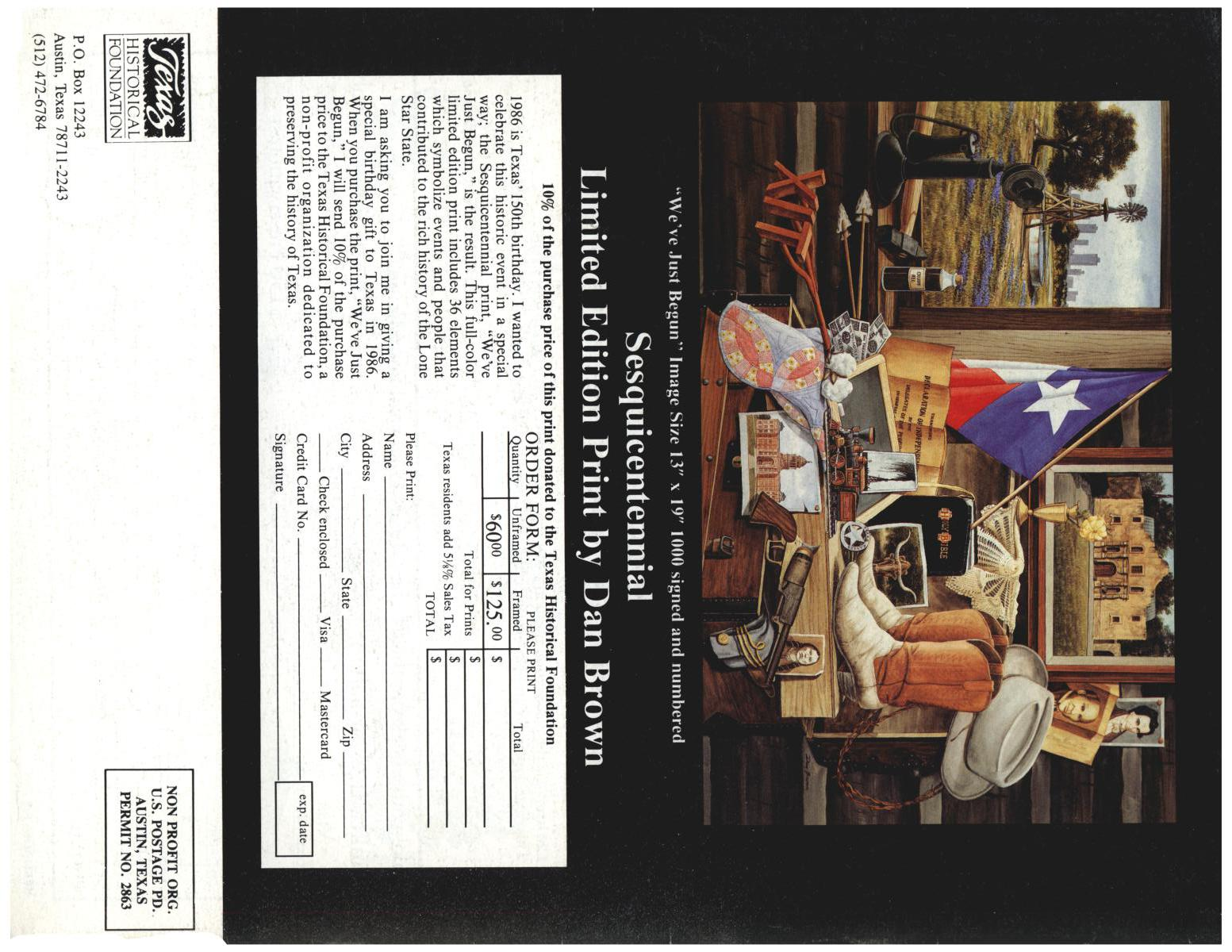 Heritage, Volume 2, Number 4, Fall 1985                                                                                                      Back Cover