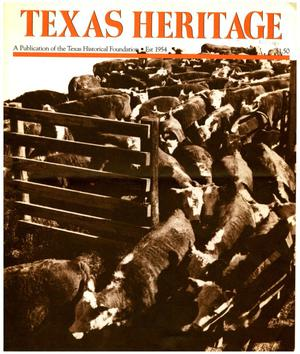 Primary view of object titled 'Texas Heritage, Fall 1984'.