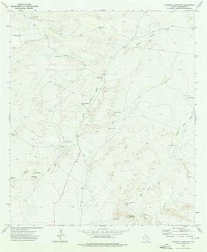 Primary view of object titled 'Loneman Mountain Quadrangle'.