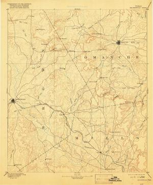 Primary view of object titled 'Brownwood Sheet'.