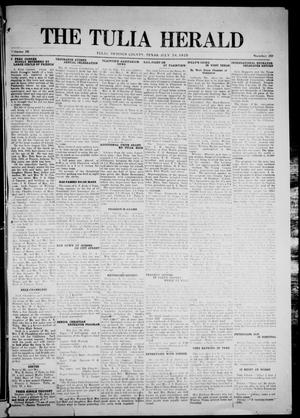 Primary view of object titled 'The Tulia Herald (Tulia, Tex), Vol. 16, No. 30, Ed. 1, Friday, July 24, 1925'.