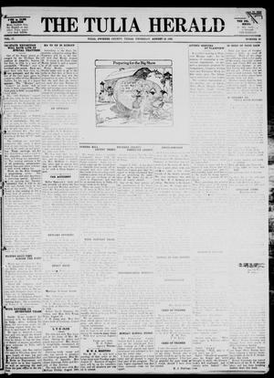 Primary view of object titled 'The Tulia Herald (Tulia, Tex), Vol. 17, No. 33, Ed. 1, Thursday, August 12, 1926'.