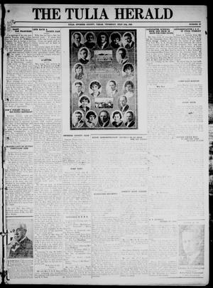Primary view of object titled 'The Tulia Herald (Tulia, Tex), Vol. 17, No. 29, Ed. 1, Thursday, July 15, 1926'.