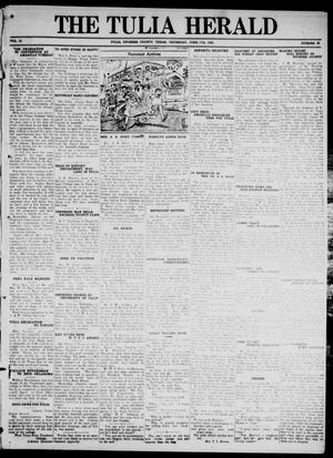 Primary view of object titled 'The Tulia Herald (Tulia, Tex), Vol. 17, No. 25, Ed. 1, Thursday, June 17, 1926'.
