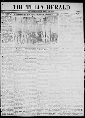 The Tulia Herald (Tulia, Tex), Vol. 17, No. 18, Ed. 1, Thursday, April 29, 1926