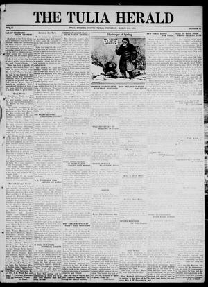 Primary view of object titled 'The Tulia Herald (Tulia, Tex), Vol. 17, No. 12, Ed. 1, Thursday, March 18, 1926'.