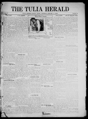 Primary view of object titled 'The Tulia Herald (Tulia, Tex), Vol. 17, No. 3, Ed. 1, Thursday, January 14, 1926'.