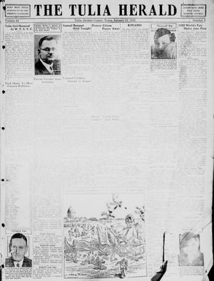 Primary view of object titled 'The Tulia Herald (Tulia, Tex), Vol. 24, No. 3, Ed. 1, Thursday, January 19, 1933'.