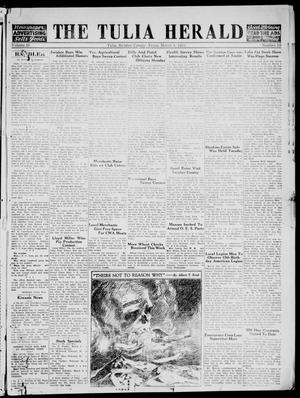 The Tulia Herald (Tulia, Tex), Vol. 25, No. 10, Ed. 1, Thursday, March 8, 1934