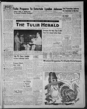 The Tulia Herald (Tulia, Tex), Vol. 46, No. 48, Ed. 1, Thursday, November 26, 1953