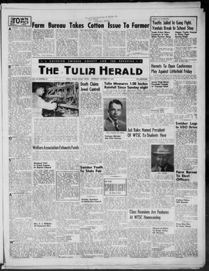 Primary view of object titled 'The Tulia Herald (Tulia, Tex), Vol. 46, No. 43, Ed. 1, Thursday, October 22, 1953'.