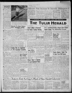 Primary view of object titled 'The Tulia Herald (Tulia, Tex), Vol. 46, No. 41, Ed. 1, Thursday, October 8, 1953'.