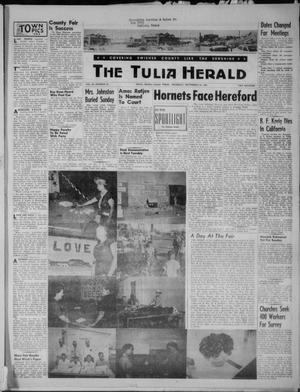 Primary view of object titled 'The Tulia Herald (Tulia, Tex), Vol. 46, No. 39, Ed. 1, Thursday, September 24, 1953'.