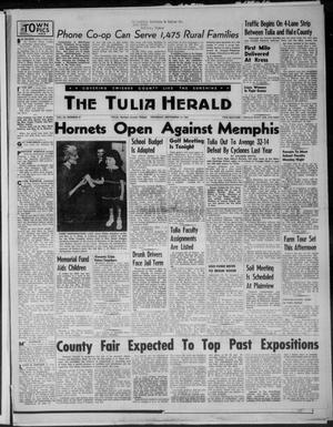 Primary view of object titled 'The Tulia Herald (Tulia, Tex), Vol. 46, No. 37, Ed. 1, Thursday, September 10, 1953'.
