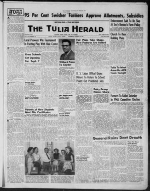 Primary view of object titled 'The Tulia Herald (Tulia, Tex), Vol. 46, No. 34, Ed. 1, Thursday, August 20, 1953'.