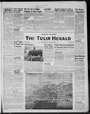 Primary view of object titled 'The Tulia Herald (Tulia, Tex), Vol. 46, No. 33, Ed. 1, Thursday, August 13, 1953'.