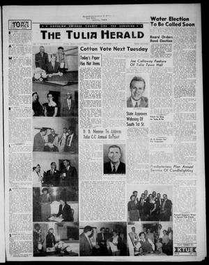 Primary view of object titled 'The Tulia Herald (Tulia, Tex), Vol. 47, No. 49, Ed. 1, Thursday, December 9, 1954'.