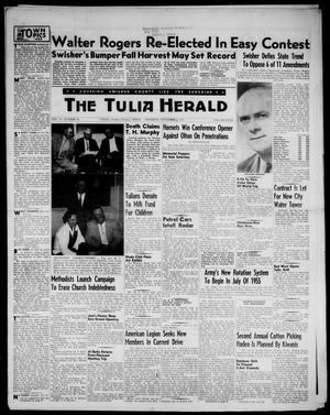 Primary view of object titled 'The Tulia Herald (Tulia, Tex), Vol. 47, No. 44, Ed. 1, Thursday, November 4, 1954'.